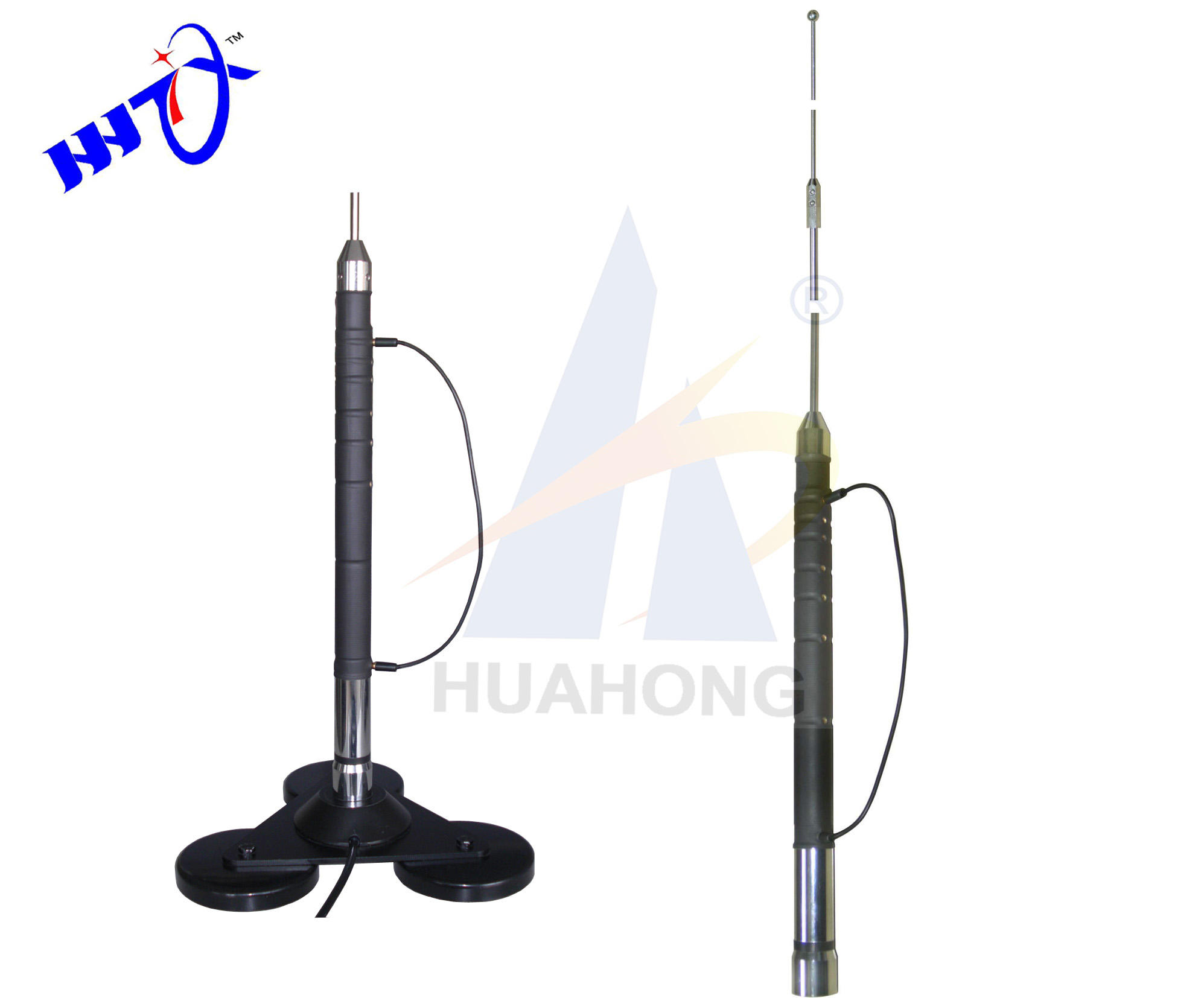 7-50mhz Tunable HF vertical antenna,hf antenna tuner with tri angle magnetic base for Car