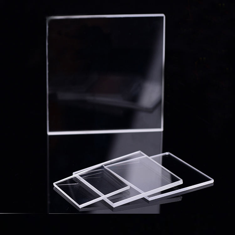 Fused Silica high transmittance UV Quartz Glass Plate 3mm 5mm