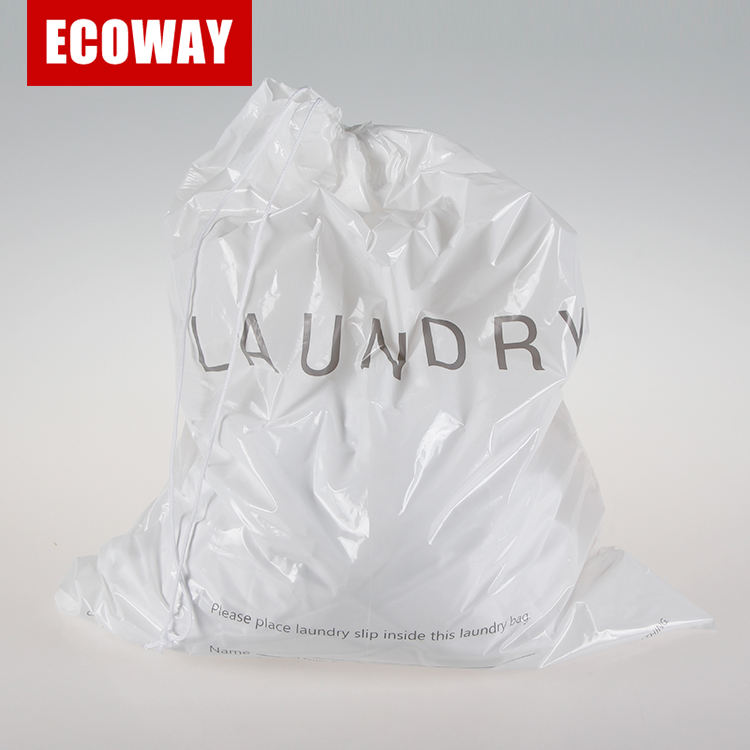 Holiday Travel Laundry Bag hotel plastic disposable laundry bag