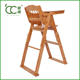 China Factory Supply Dining Furniture Bamboo Baby Feeding Chair Wholesale