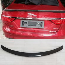 For Jaguar XF Carbon Fiber Rear Lip Trunk Boot Wing Spoiler 1 PC 16-17