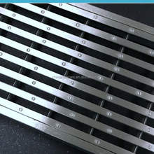 outdoor drainage area used stainless steel storm drain