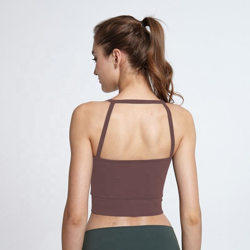 Zomer Sexy Sport <span class=keywords><strong>Hemdje</strong></span> Vrouwen <span class=keywords><strong>Beha</strong></span> Sneldrogend Schokbestendig Swell Vest Top