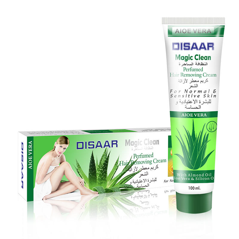 Low MOQ Disaar Natural Aloe 3-minute Quick Body Hair Removal Cream For Men Women