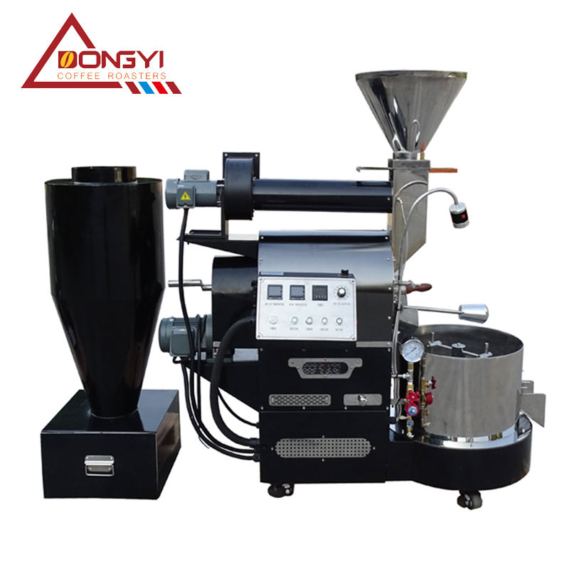 hot sell Dongyi DY-3 3kg small professional commercial coffee roaster coffee bean roasting machine