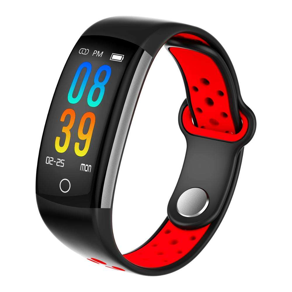 Fitness Tracker Watch IP68 Waterproof Activity Wireless Smart Bracelet with Continuous Heart Rate Monitor