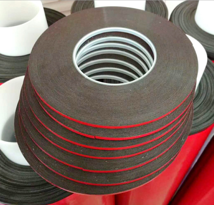high quality rubber insulation foam double sided butyl waterproof tape For Glass