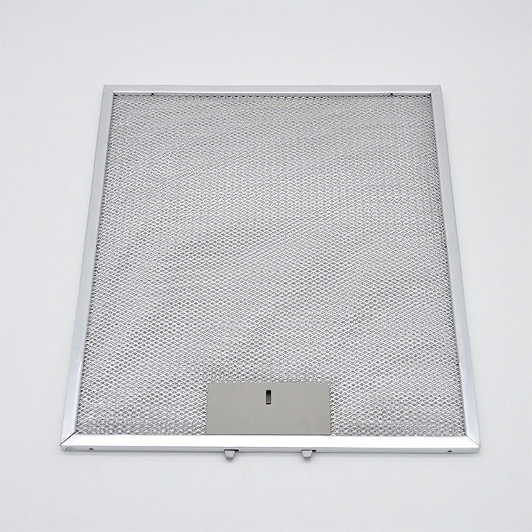 Good Quality Custom Kitchen Range Vent Hood Aluminum Mesh Grease Filter For Cooker Hood