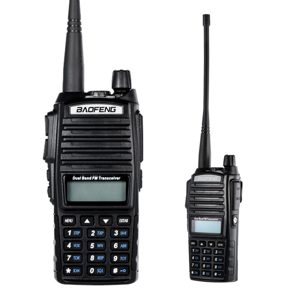 전문 무 토키 보풍 uv-82 dual band vhf uhf 10 km 긴 talking rang 휴대용 햄 Radio Handy uv82