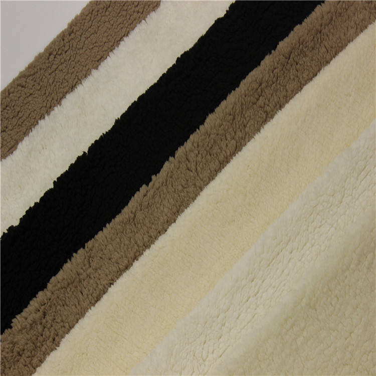 Short Pile Artificial Fur For Blanket,100% Polyester Knitted Artificial Fake Fur Fabric