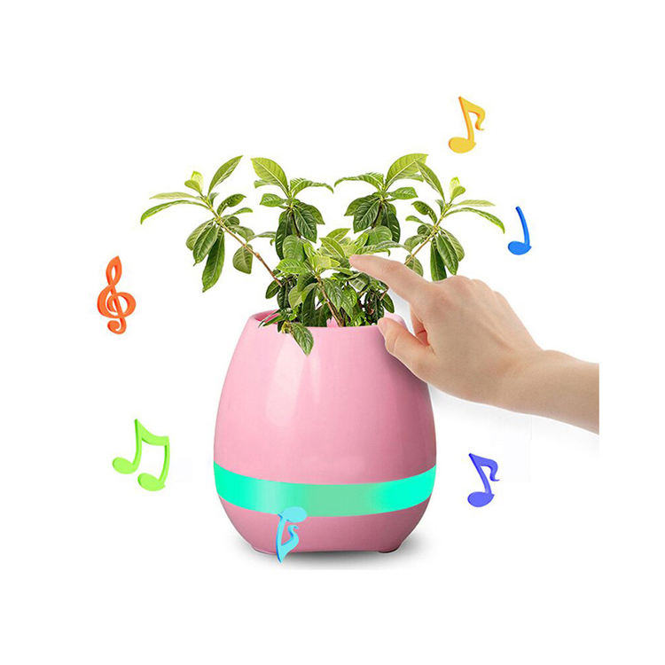 <span class=keywords><strong>Musik</strong></span> Flower pot Kunststoff Wireless Flower Plant Pot Lautsprecher
