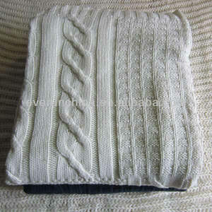 50cc71 100% algodão pontocruz cobertor da malha, patchwork cobertor da malha, 2013 cobertor