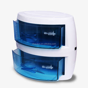 salon furniture Double layer Ultraviolet radiation UV scissors disinfection cabinet