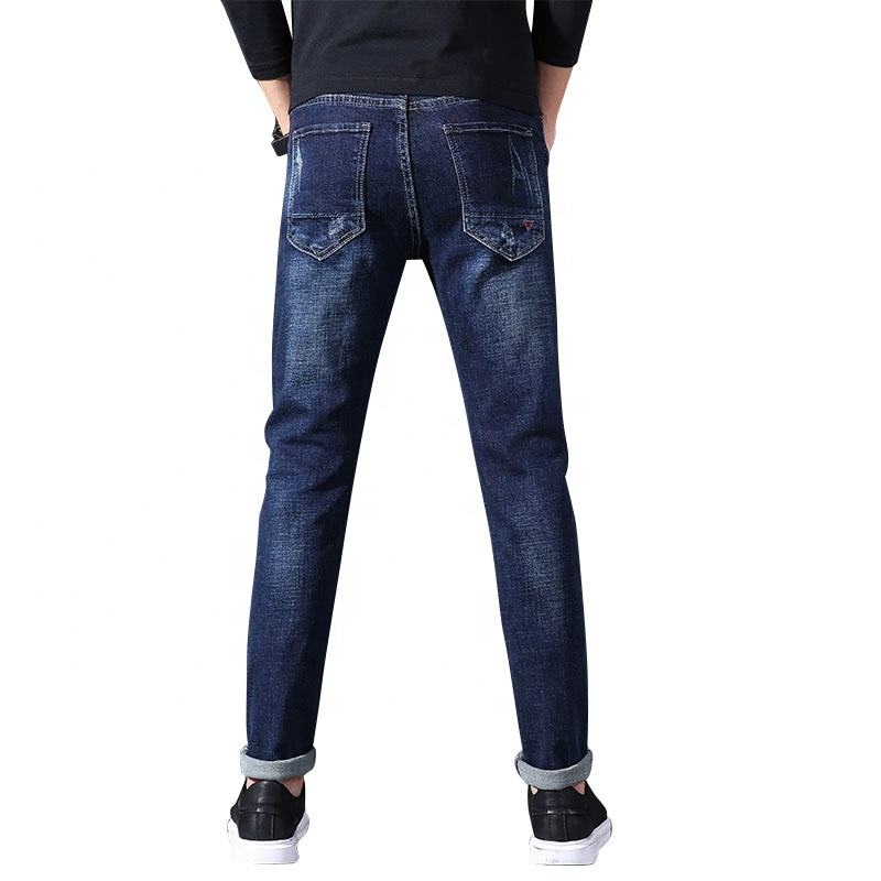 OEM long slim fit man jeans custom design new style jeans denim trousers