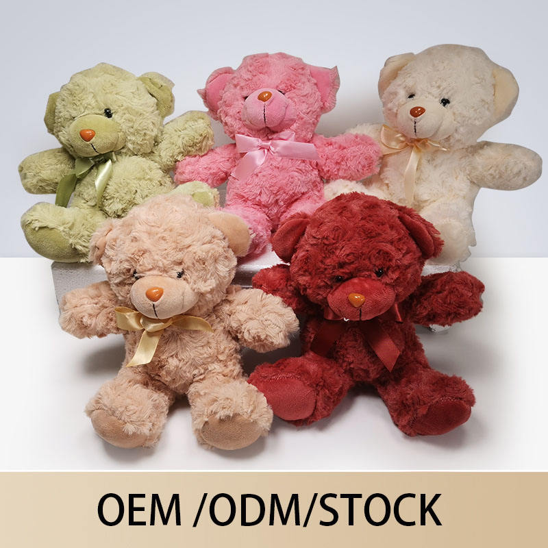 Hot Selling Customized Pink Green Color Plush Teddy Bear Toy Wholesale Mini Graduation Teddy Bear With Good-material