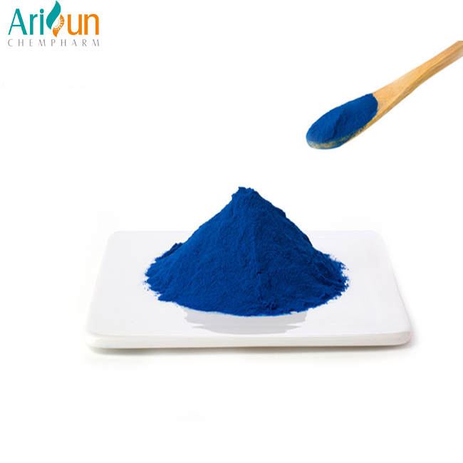 Arisun Supply Natural Food Coloring Powder Blue Spirulina Powder