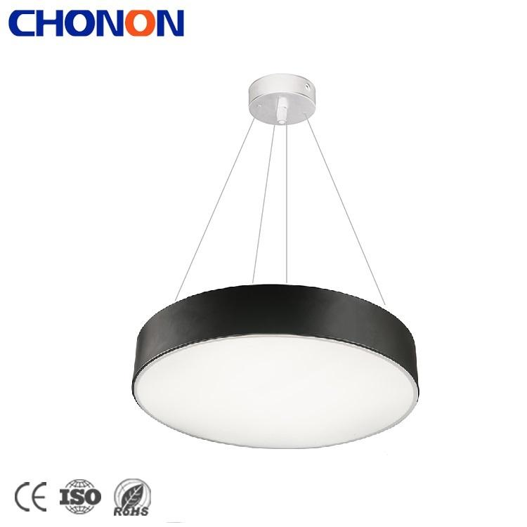 China Modern Lighting Home Office Hotel Acrylic 24W 30W 48W Round LED Chandelier Pendant Light
