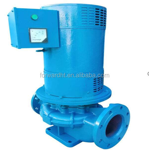 15KW vertical brushless induction radial flow small water powered turbine generator
