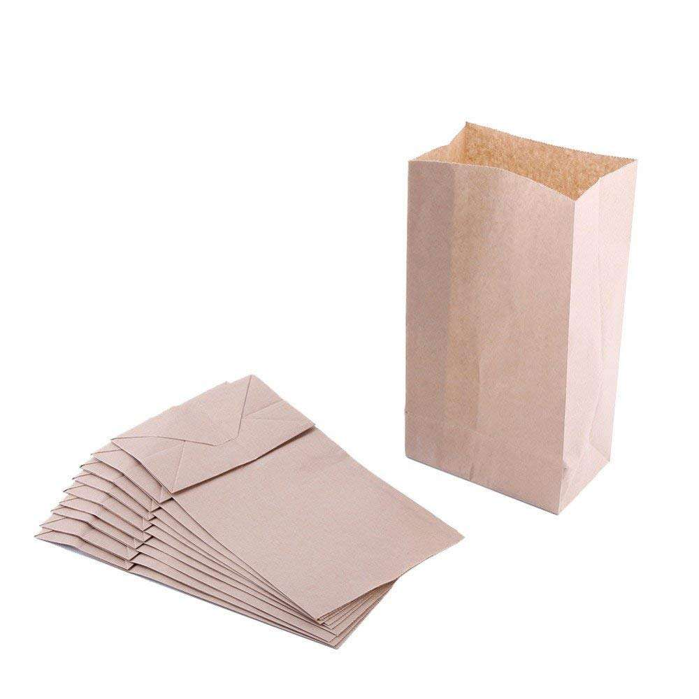 Custom Made Promotional Cheap High Quality Small Brown Recycle craft paper bag