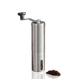 Premium Stainless Steel Manual Coffee Grinder For Home Use