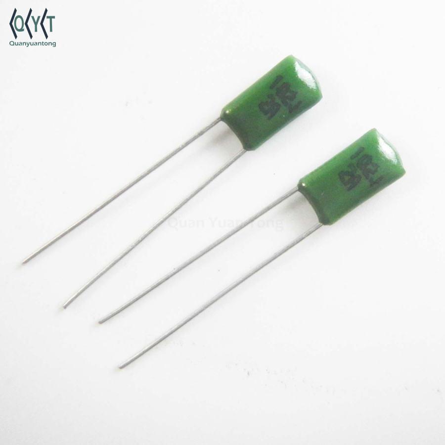 100pcs 2A471J 100V 470pF 0.47nF ±5/% Polyester Film Capacitors