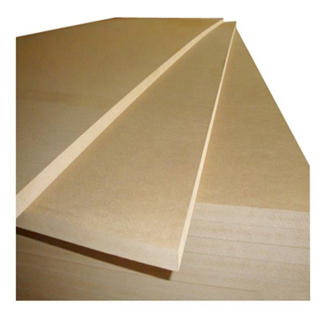 E1/E2 Glue 4'X8' plain/raw MDF penal with high gloss/best selling best quality plain mdf cabinet door in sale