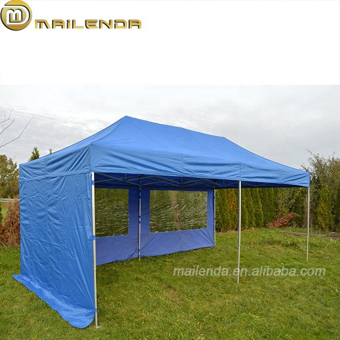 Cheap custom printed aluminum frame pop up shower 3x3 canopy roof pop up shower tent