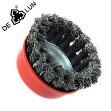 high quality Industrial abrasive polish wire cup wire wheel  brush
