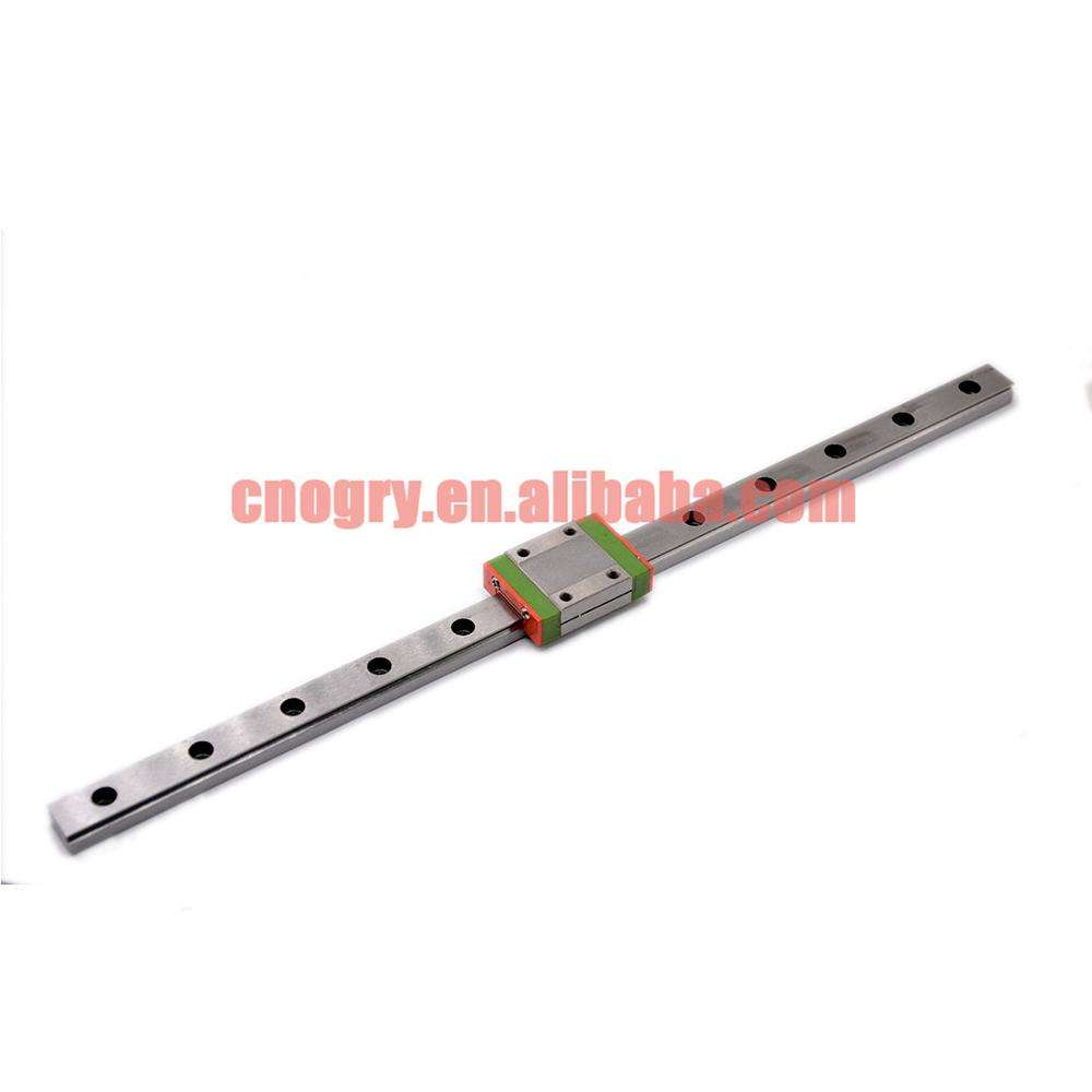 CNC part MR12 12mm linear rail guide MGN12 length 400mm with mini MGN12C linear block carriage miniature linear motion guide way