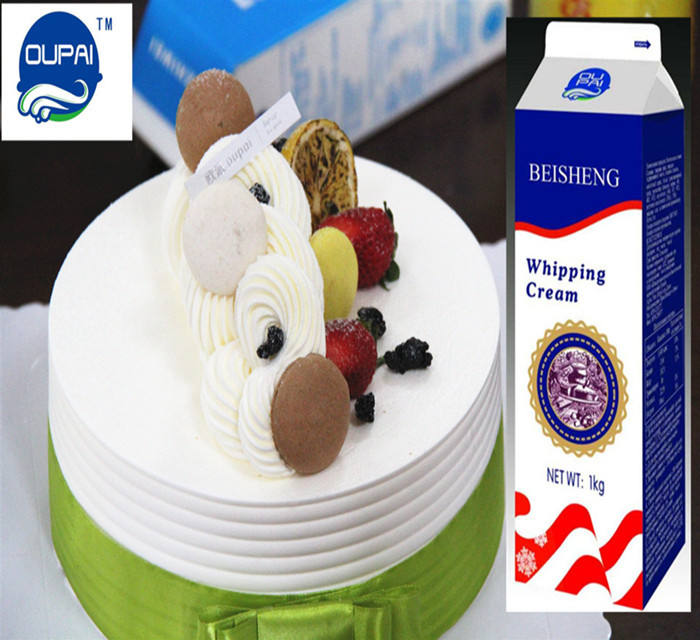Hot sale top grade Whipping Cream for bread ,cake ,puff,desert ,ice cream