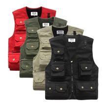 Utility Vest Multifunctional New Cotton Leisure Outdoor Sports Hunting Fishing Vest