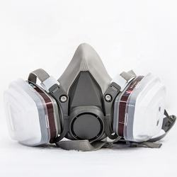 EN 143 reusable breath spray welding respirator spray paint mask