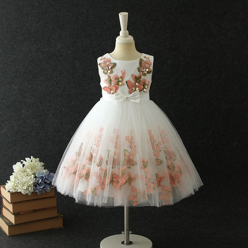 Good quality children clothing girl dresses princess dress designs party dresses for 3 year old girl