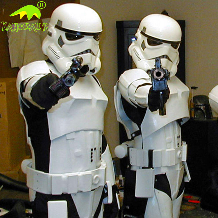 KANOSAUR0710 <span class=keywords><strong>Professionale</strong></span> Personaggio Stormtrooper Costume