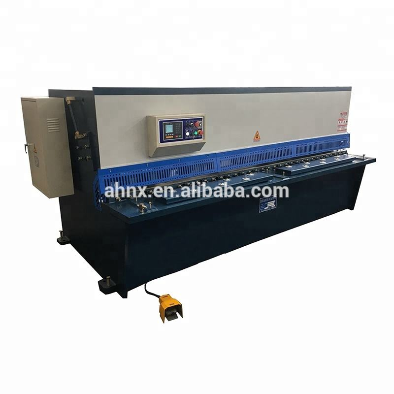 QC12y-6x3200 Guillotine Hydraulic Shearing Machine Specifications for Shearing Cutting Steel Sheet Plate Machine