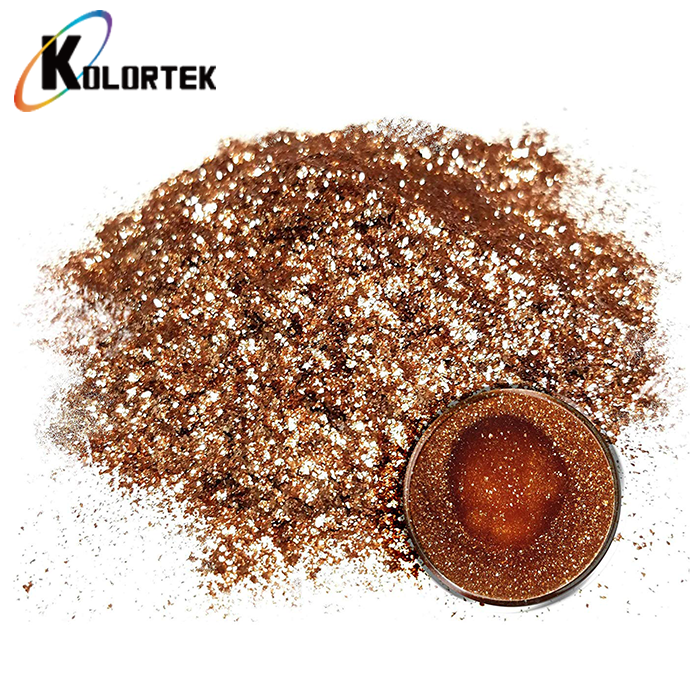 Bulk Epoxy Resin Metallic Glitter Pigment Powder Mica Flakes for Flooring Paint Coating