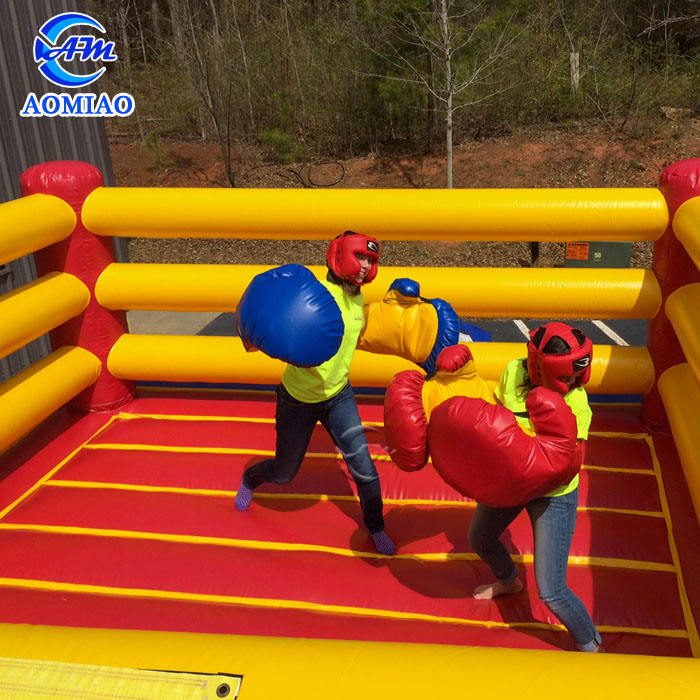 Exciting outdoor inflatable wrestling boxing ring /inflatable fighting arena
