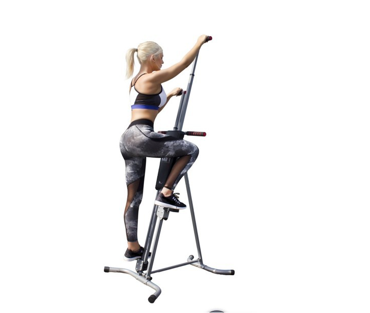 Climber Total Body Workout Fitness Folding Cardio Vertical Exercise Machine