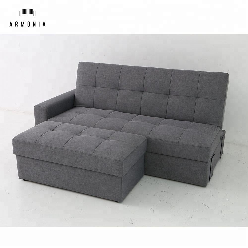 modern sectional day bed sofa corner furniture in living room multi purpose gray sleeper couch canape european wholesale poland