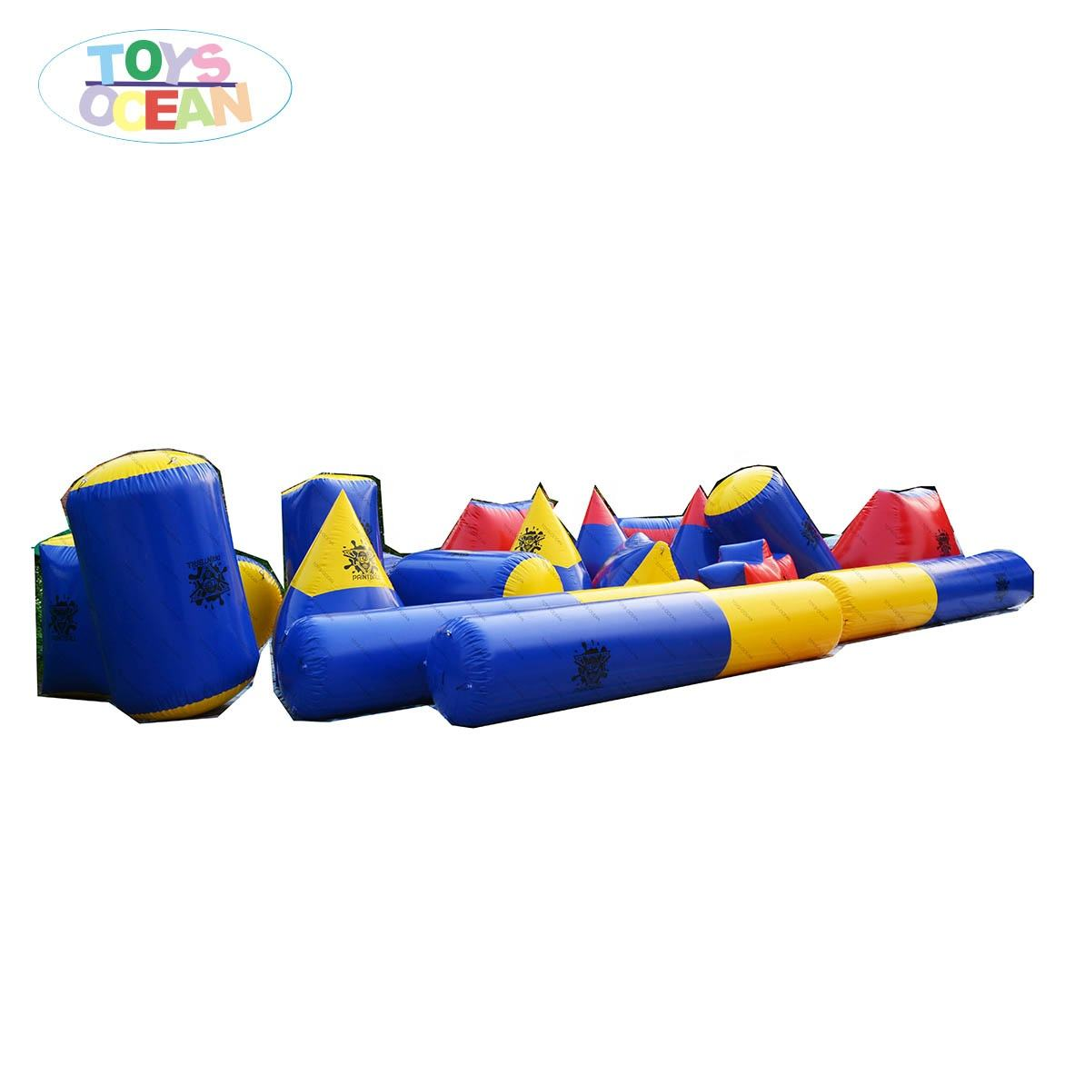 cheap paintball inflatable bunkers,inflatable x bunker x x