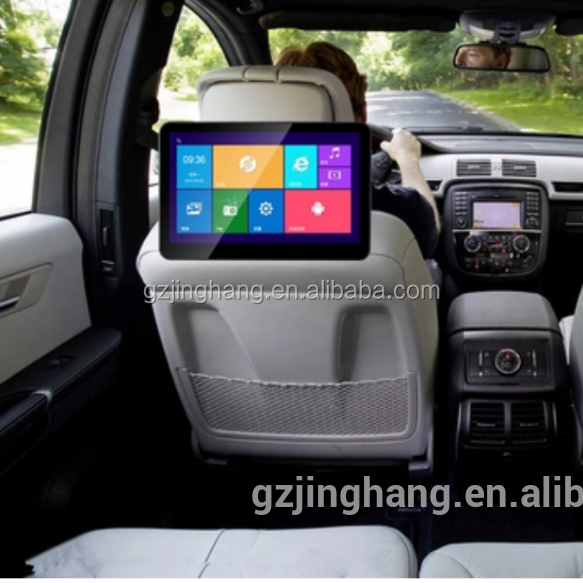 HOT! android 5.0 os car headrest monitor back seat tv for car with lcd monitor