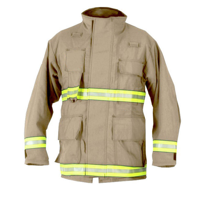 Lightweight firefirghing clothing with zipper for adult