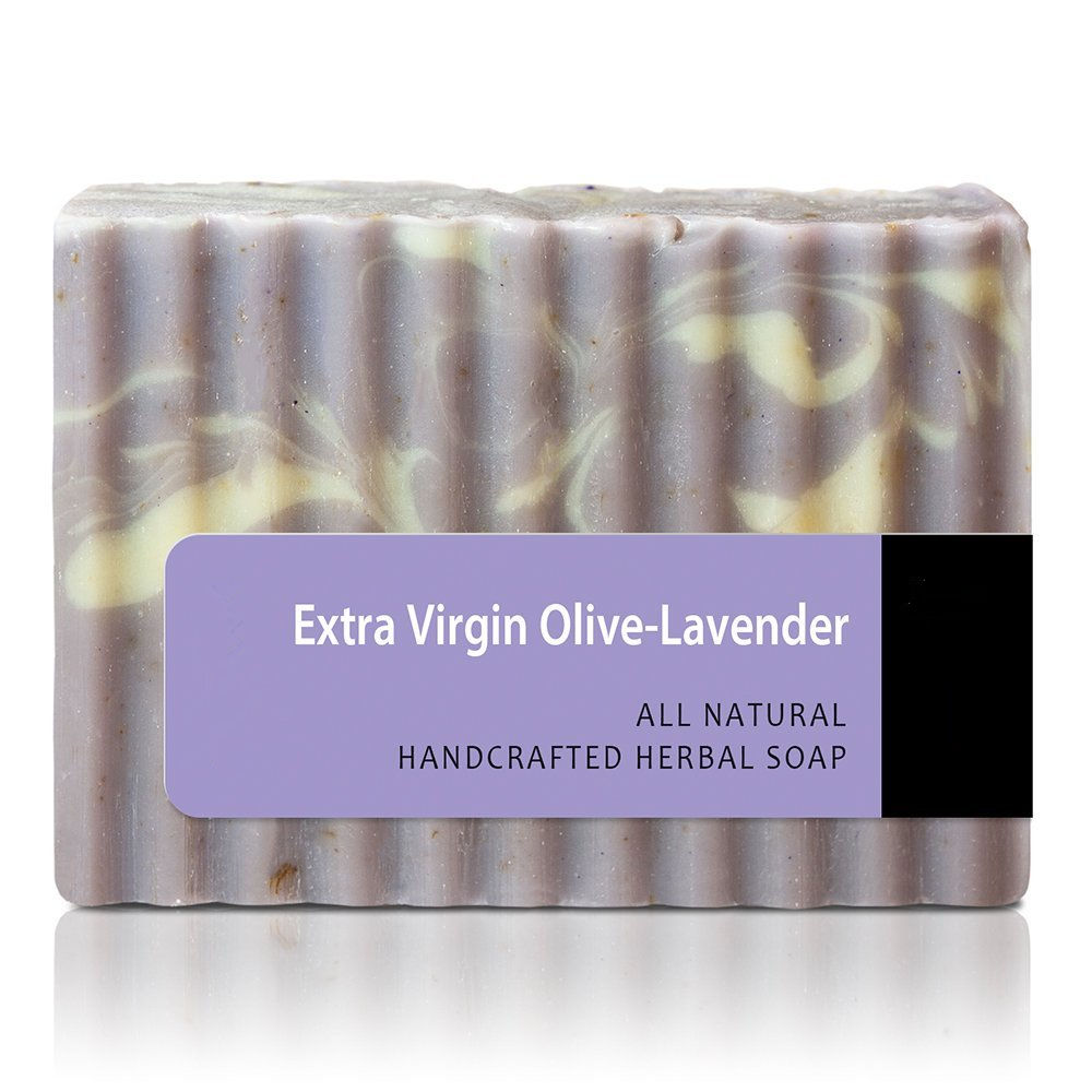 Best Natural Skin Care Extra Virgin Olive Lavender Soap