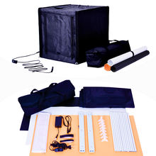 MTPH8001 40 50 60cm Photograph Softbox Foldable Kit Square Tent Studio Photo Light