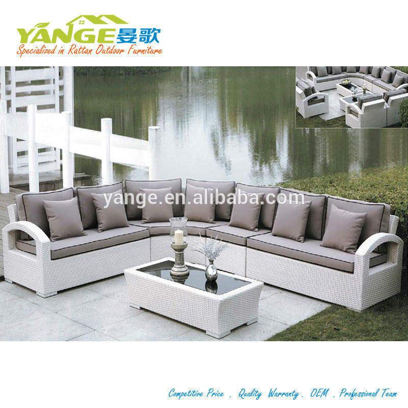 Costco уличная мебель l формы диван и кресла yg-6010