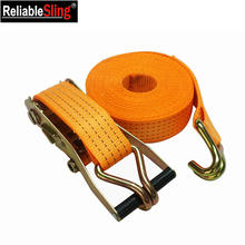 Heavy Duty Polyester Webbing Ratchet Tiedowns for Cargo Control
