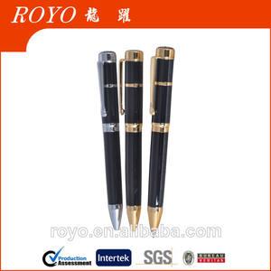 2014 de alta calidad de metal jeringa pluma para la promoción del producto