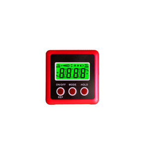 2-in 1 Magnetische Inclinometer Bevel Gauge Digitale Niveau Doos
