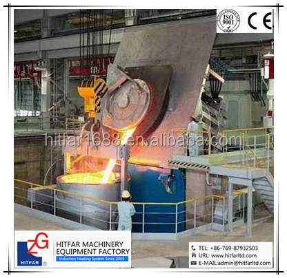 BEST PRICE 2000KG/2tons cast iron/steel induction melting furnace: Low Power Consumption Type! HOT SALE!