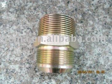 brass hose nipple straight adapter jis bsp male 60 cone copper pipe nipple male compression nipple top sell bsp pipe fitting hyd